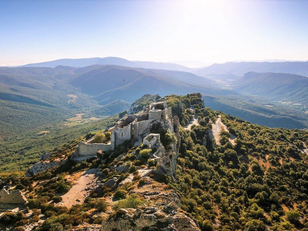 Le château de Peyrepertuse-1